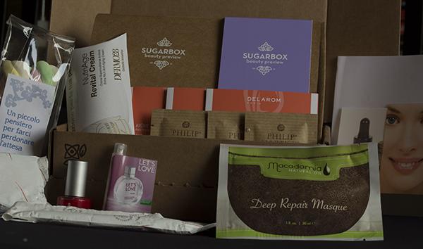 Contenuto della Sugarbox di settembre