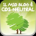 Il mio blog è CO2 Neutral