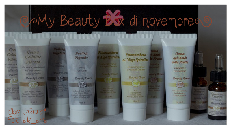 Box: #13 My Beauty Box di novembre