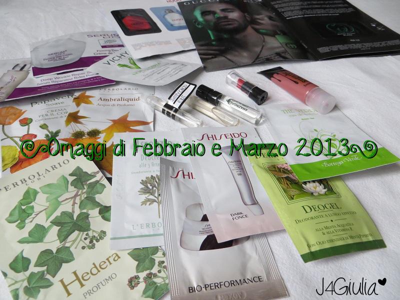 Omaggi: #3 Febbraio e Marzo 2013