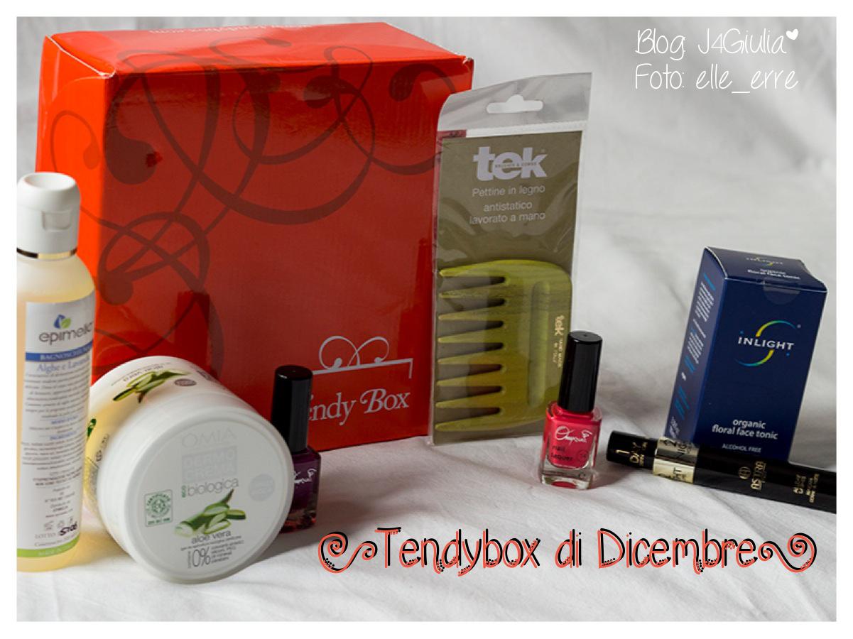 Box: #17 Tendybox di dicembre