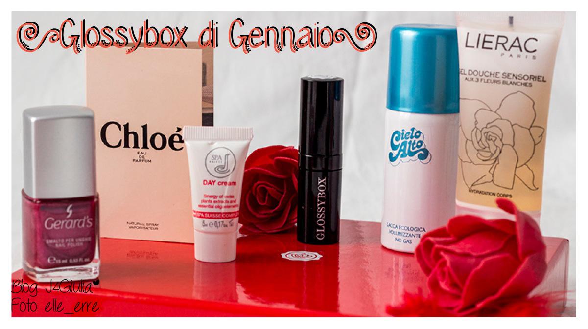 Box: #22 Glossybox di Gennaio