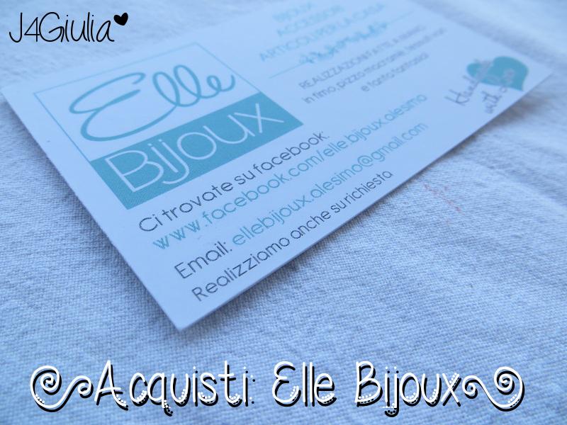Acquisti: #14 Elle Bijoux
