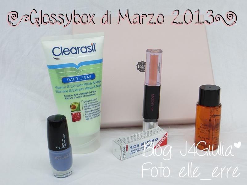Box: #31 Glossybox di Marzo 2013