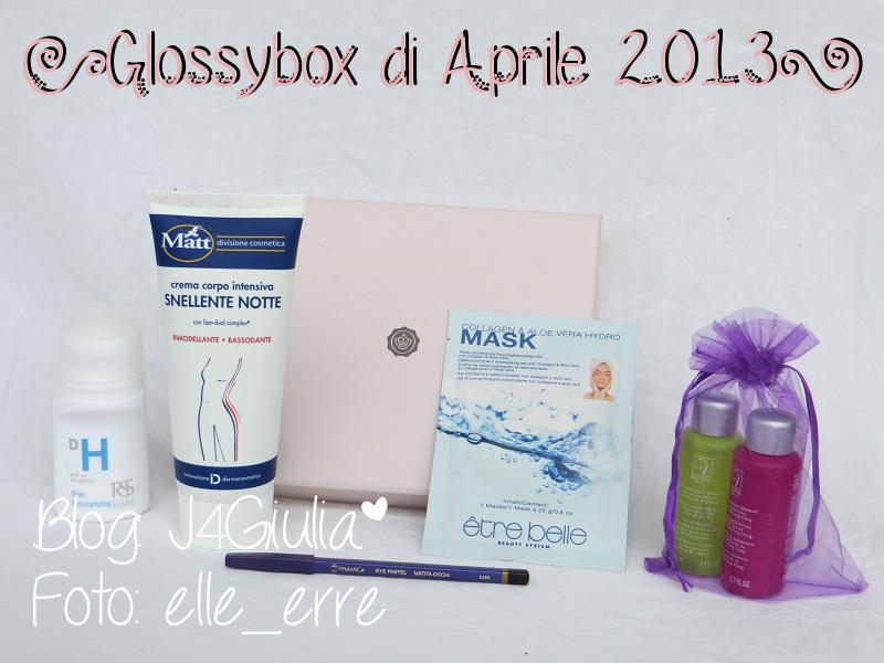 Box: #32 Glossybox di Aprile 2013