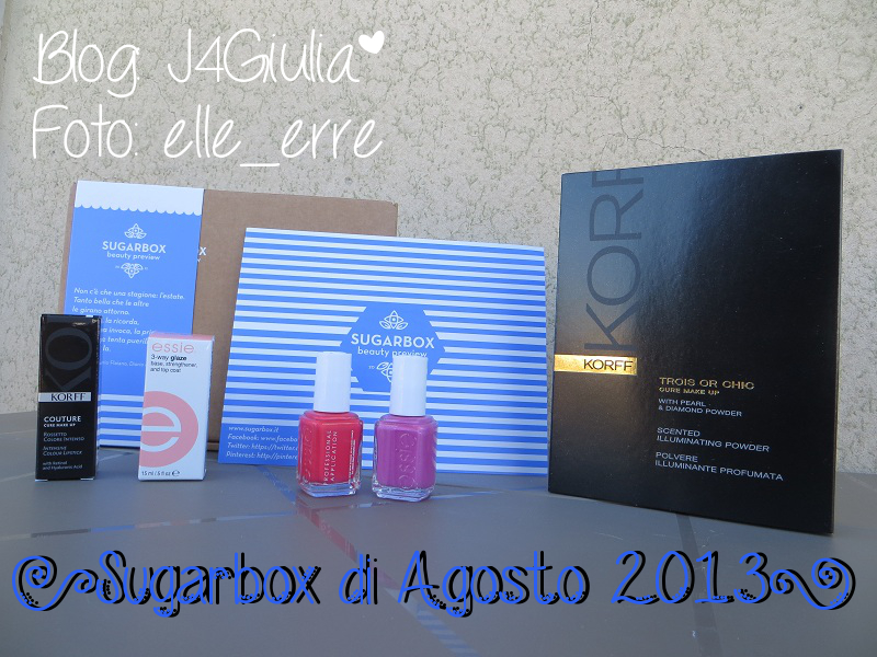 Box: #29 Sugarbox di Agosto