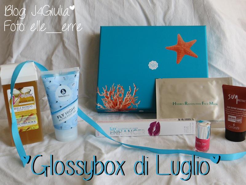 Box: #36 Glossybox di Luglio 2013