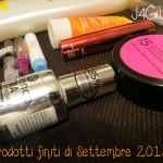 Tag: #4 Prodotti finiti di Settembre 2013