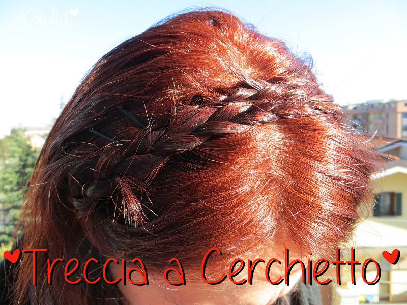 Acconciatura: #1 Treccia a cerchietto