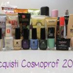 Acquisti: #22 Cosmoprof Bolgona 2014