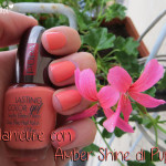 Manicure: #5 Amber Shine di Pupa