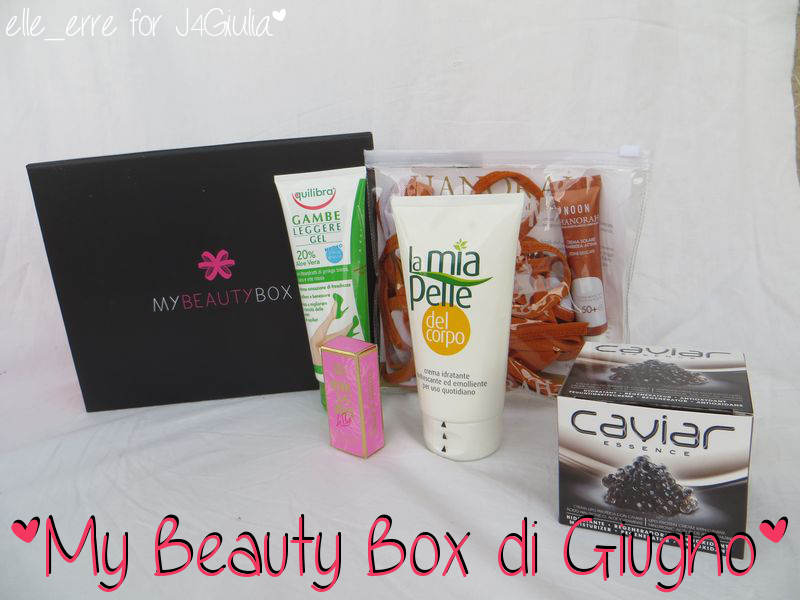 Box: #55 My Beauty Box di Giugno 2013