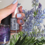 Manicure: #6 Found My Love di Essence & Frenzy di Sinful Colors