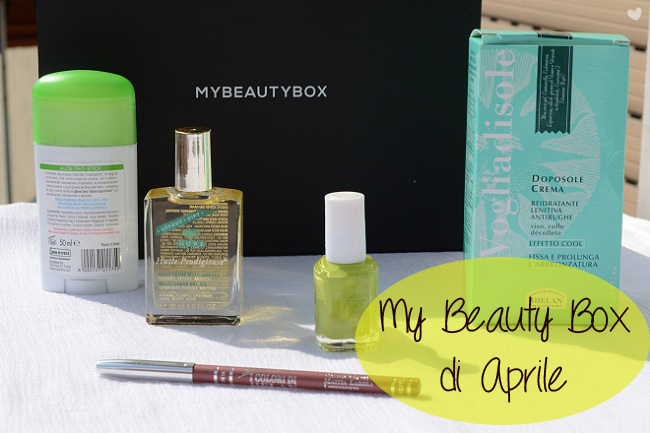 Box: #67 My Beauty Box di Aprile 2014