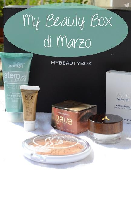 Box: #66 My Beauty Box di Marzo 2014