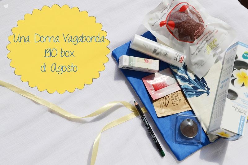 Box: #73 Una Donna Vagabonda Bio Box di Agosto 2014