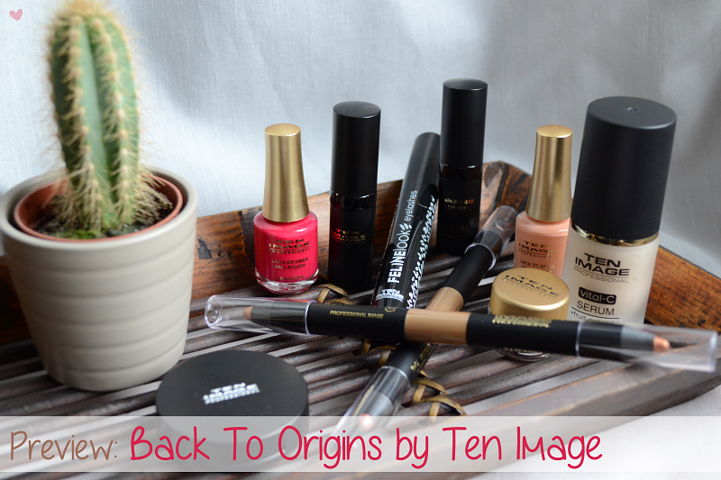Preview: Back To Origins, novità p/e 2015 by Ten Image