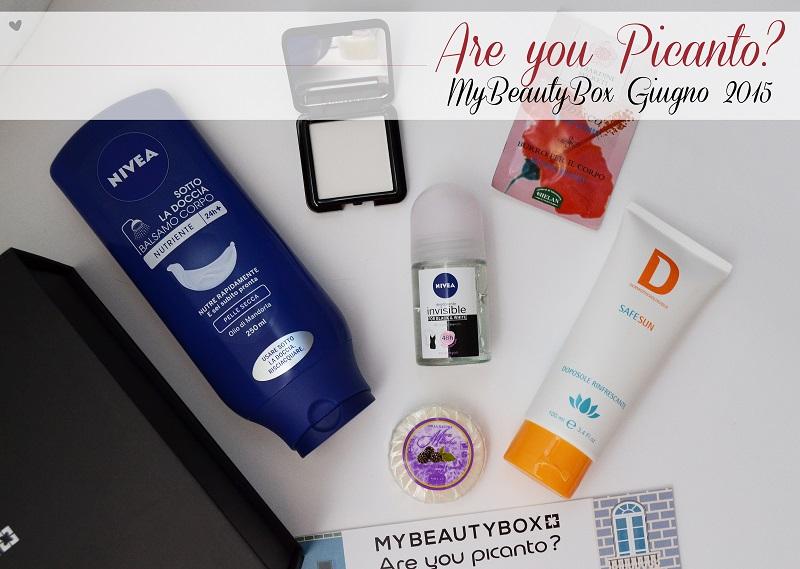 Are You Picanto?, MyBeautyBox di Giugno 2015