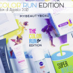 The Color Run Edition, MyBeautyBox di Agosto 2015