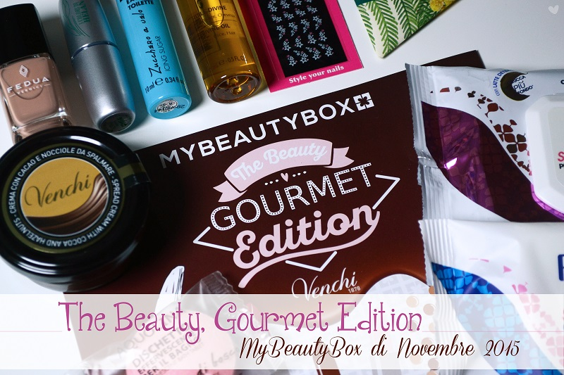 The Beauty, Gourmet Edition - Novembre 2015 [MBB]