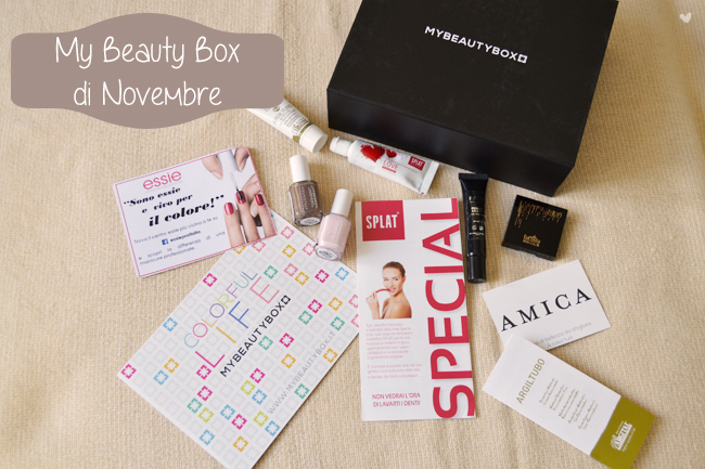 Box: #75 My Beauty Box di Novembre 2014